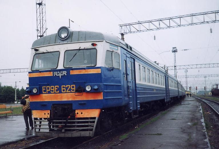 По Киеву поедет электричка